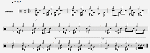 Riff A2 drums